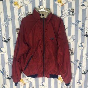 90s Patagonia lined wind breaker jacket.